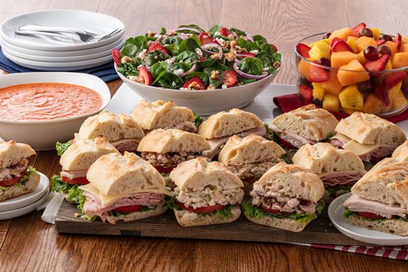 Sandwiches, Soups & Salads category
